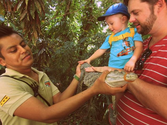 Visit to Crococun Zoo